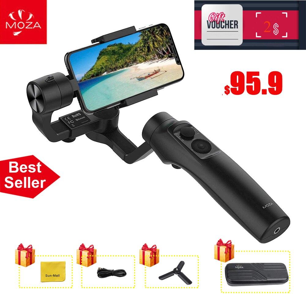 MOZA мини Ми 3 оси ручной Gimbal стабилизатор для смартфонов iPhone X 8 плюс 8 7 samsung S9 S8 S7 с максимальной полезной нагрузкой 300 г