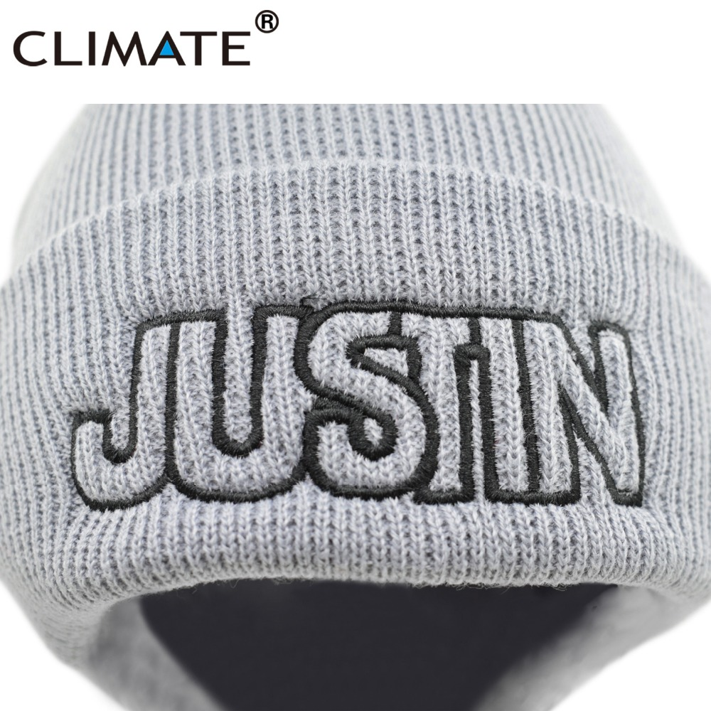 f00acb54c6a CLIMATE Men Women Winter Warm Beanie Hat Justin Bieber Fans Hat Purpose  Tour Warm Soft Knitted Beanies Cap For Men Youth Women-in Skullies   Beanies  from ...