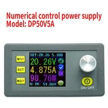 DP50V5A Dijital Kontrol DC Güç Kaynağı Ayarlanabilir Buck Modülü Entegre Voltmetre Ampermetre Renkli Ekran 50 V 5A