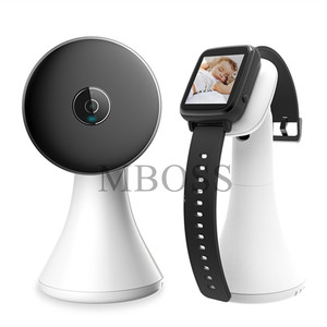 Image 2 - Wireless Video Watch Style Baby Monitor Portable shock vibration Baby Nanny Cry Alarm Camera Night Vision Temperature Monitoring
