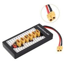 Параллельная зарядная плата баланс T вилка для Lipo 2 S-6 S XT60 батарея зарядное устройство линия для Imax B6 B6AC Радиоуправляемый Дрон, автомобиль Лодка игрушки модель