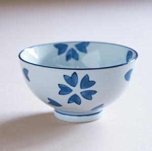 Керамическая чаша для риса с синим рисунком, высокотемпературная подглазурная цветная посуда для супа, чаша для риса на пару, японский стол