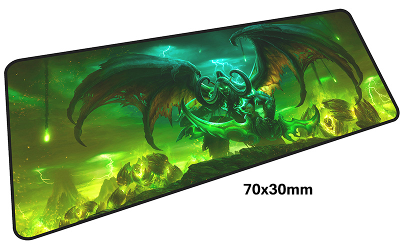 Illidan mouse pad gamer 700x300mm notbook mouse mat large gaming mousepad large best seller pad mouse PC desk padmouse