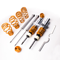 Coilover Adjustable Suspension Shock Kit for VW Polo 9N 2002 2009 Coilovers