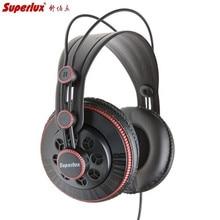 Superlux HD681 Trasduttore Auricolare di 3.5mm Martinetti Wired Super Dynamic Bass Auricolari A Cancellazione di Rumore Auricolare (Regolabile Della Fascia 9ft Cavo)