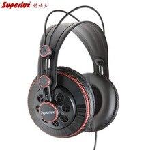 Superlux HD681 słuchawki 3.5mm Jack przewodowy super bas dynamiczne słuchawki zestaw słuchawkowy z redukcją szumów (regulowany kabel 9ft z pałąkiem na głowę)