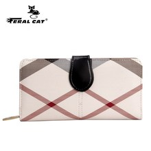 2017 women wallets and leather wallet card holder high quality luxury ladies fashion money wallet purse phone wallet