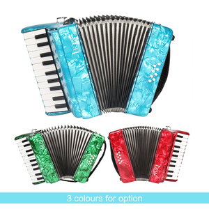 Image 3 - IRIN 22 Key 8 Bass Piano Accordion with Straps Gloves Cleaning Cloth Educational for Students Beginners Childern