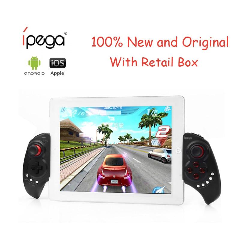 2017 caliente nueva IPEGA PG-9023 telescópica controlador de juegos inalámbrico Bluetooth Gamepad Joystick para Android IOS Teléfono/ipad