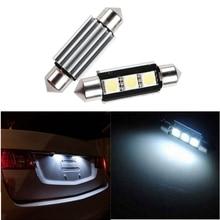 Огни автомобиля 36 мм 3 5050 SMD LED гирлянда свет Canbus Ошибок C5W авто свет лампы белый DC12V