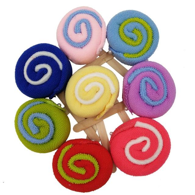 30pcs/lot Lollipop Towel Festive Birthday Party Favor Present Gift Home Decorative Accessories Supplies Gear Stuff Product 2