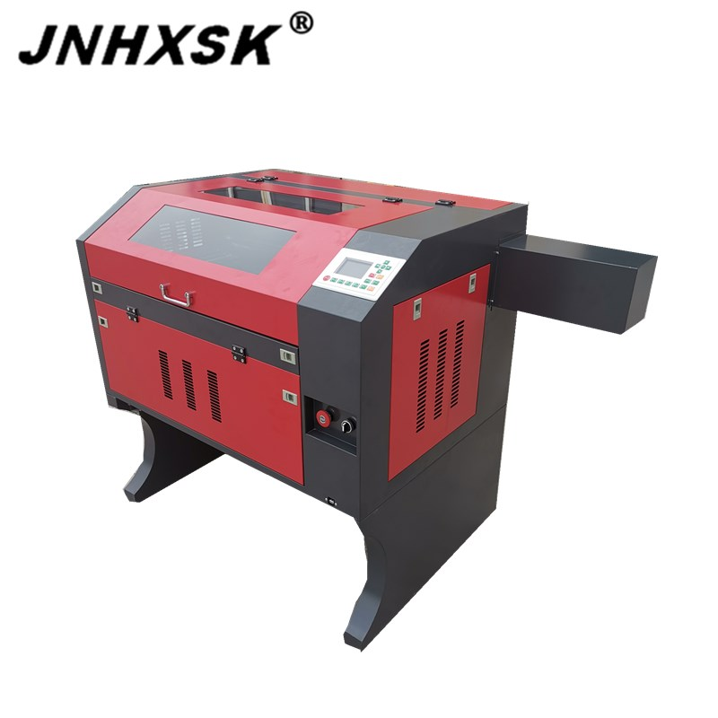 JNHXSK 4060 CO2 Laser Engraving Rubber Sheet 400x600 Laser Cutting Machine On Sale