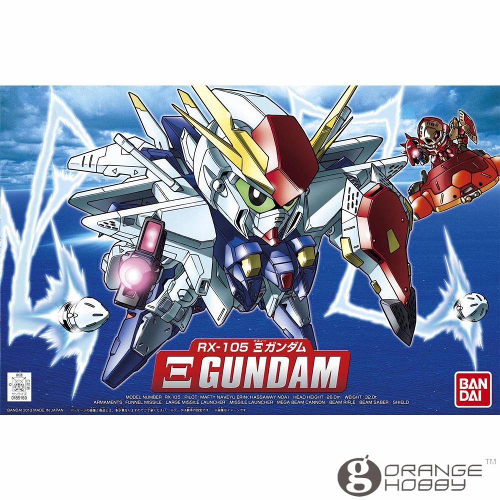 OHS Bandai SD BB 386 Q-Ver Xi Gundam Mobile Suit Assembly Model Kits oh bandai bandai gundam model sd q version bb 309 sangokuden wu yong bian xiahou yuan battle