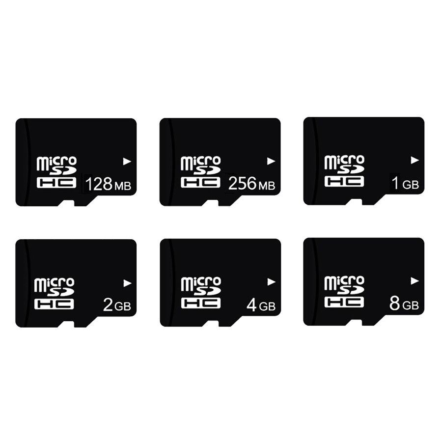 Micro sd-karte 128MB 256MB 1G 2G 4G 8G Speicherkarte Class4 Tf-karte C10 microsd UHS-I U1 Freies Verschiffen cartao de memoria