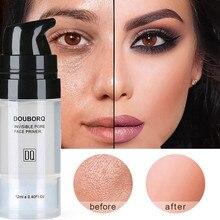 Os poros invisíveis mágicos do primer da composição dos poros desaparecem o óleo da cara-controle compõem a base contém a vitamina a, c, e para a saúde ideal da pele