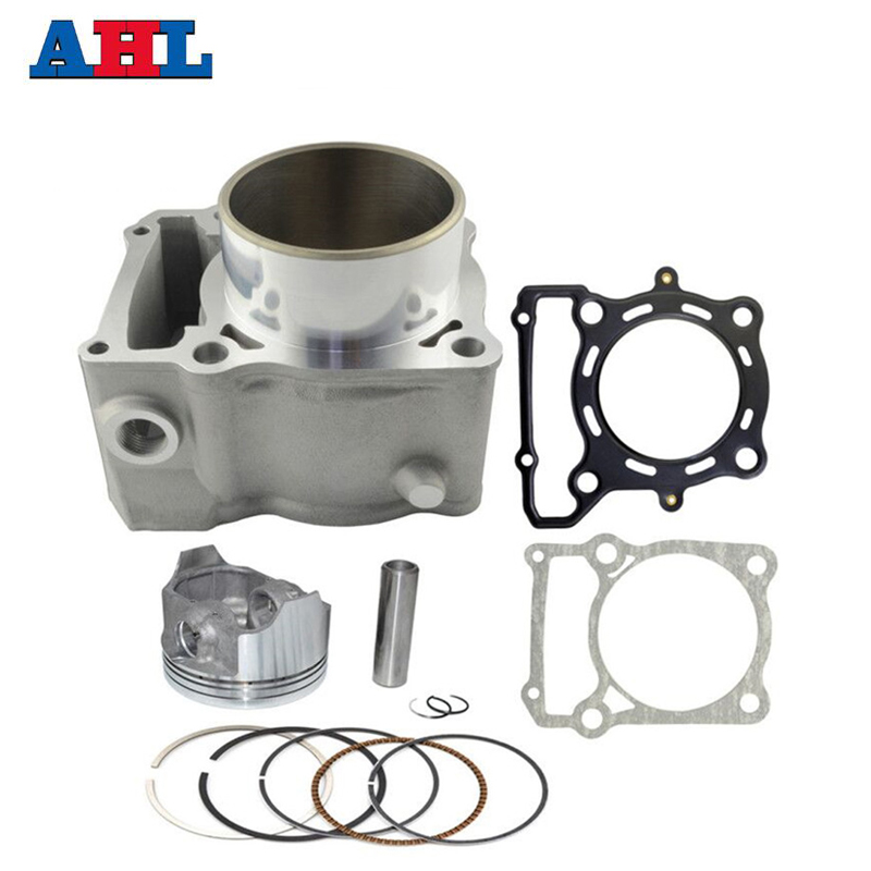 купить Motorcycle Engine Parts For KAWASAKI KLX250 1993-2014 KLX300 1996-2007 Air Cylinder Block & Piston Kit & Head & Base Gasket Kit по цене 8839.68 рублей
