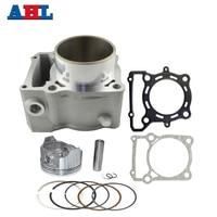 Motorcycle Engine Parts For KAWASAKI KLX250 1993 2014 KLX300 1996 2007 Air Cylinder Block & Piston Kit & Head & Base Gasket Kit