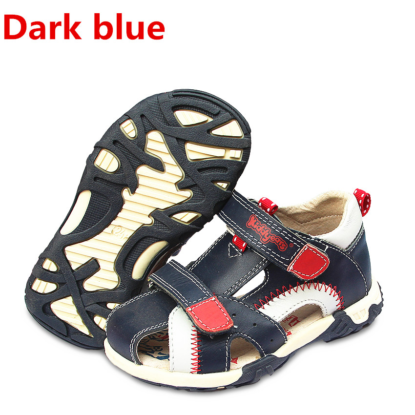 Super Quality 1pair Genuine Leather Boy Orthopedic Shoes Children Sandals+inner 13.2-17.3cm, Kids Summer Shoes