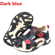 Super Quality 1pair Genuine Leather Boy Orthopedic shoes Chi