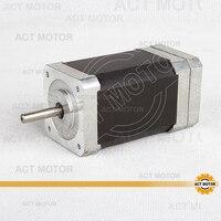 Barato ACT Motor Nema17 Motor DE CC sin escobillas 42BLF03 24V 78W 4000RPM 3 fases de eje único CNC enrutador de corte de espuma de grabado