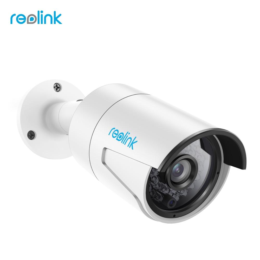 Reolink IP PoE Fotocamera 4MP HD Esterno Impermeabile di Visione Notturna A Raggi Infrarossi di Video Sorveglianza di Sicurezza RLC-410