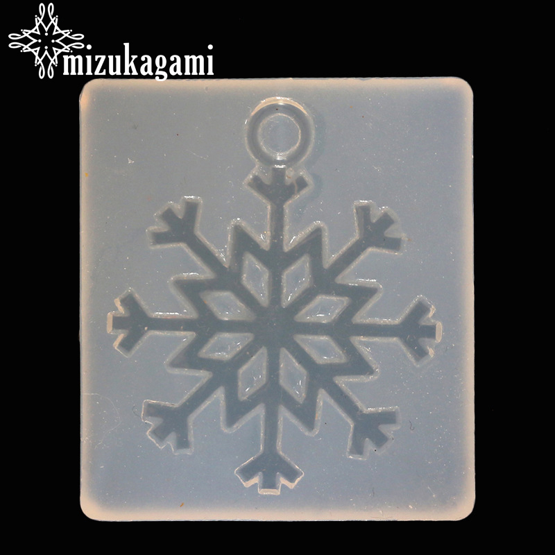 1pcs UV Resin Jewelry Liquid Silicone Mold Big Christmas Snowflake Resin Molds For DIY Necklace Pendant Charms Making Jewelry