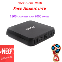 Neotv Android TV Box Iptv Arabo Abbonamento mag250 coppa del mondo 2018 Neo tv streaming media player