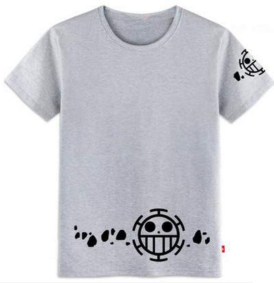One Piece Trafalgar Law Fashion Casual Unisex T-shirt