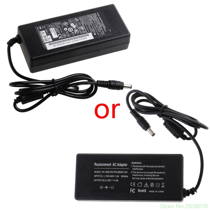 20V 4.5A 90W 5.5*2.5mm Laptop AC Adapter Power Supply Charger Adapter for Lenovo for ins 1427 1425 laptop charger 90w cn 0p189k p189k original 2 years warranty