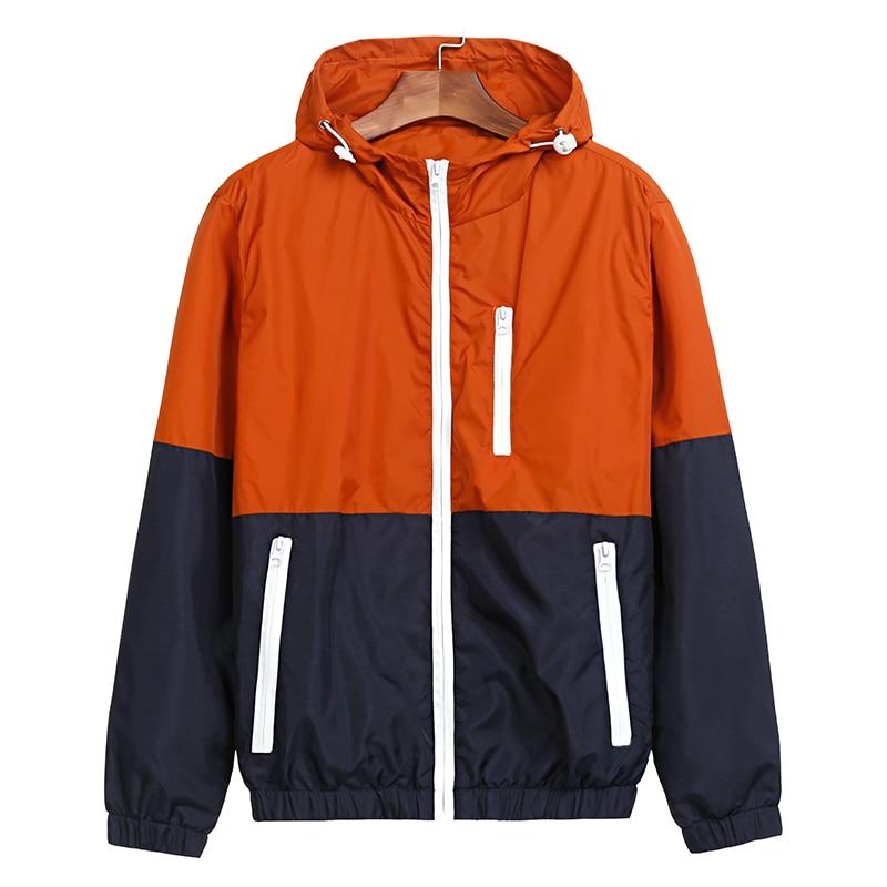 Jackets   Women 2018 Spring New Fashion   Jacket   Womens Hooded   basic     Jacket   Casual Thin Windbreaker female   jacket   Outwear Women Coat