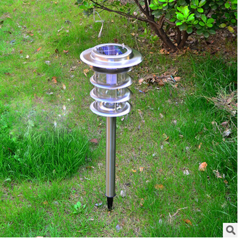 New Solar Power LED Garden Lamp Yard Lawn Light Outdoor Landscape courtyard solar garden lights фотоаппарат системный премиум olympus pen f silver 14 42mm black kit