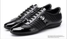 BALDININI новые мужские повседневная обувь лакированные туфли в Британский хан издание обувь одежда мужская обувь кожа бизнес