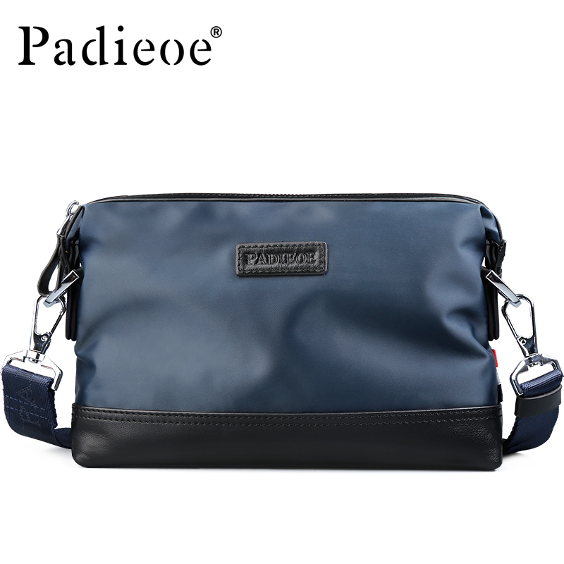 Padieoe Men Shoulder Bags Business Casual Brand Handbag Clutch Men's Messenger Bag Travel Canvas Crossbody Bag Free Shipping augur men s messenger bag multifunction canvas leather crossbody bag men military army vintage large shoulder bag travel bags