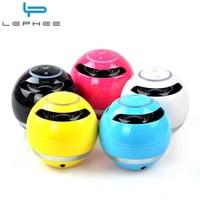 Lephee Wireless Bluetooth Speaker Portable Mini Louderspeaker Ball Amplifier Music Subwoofer Support FM Radio TF Card