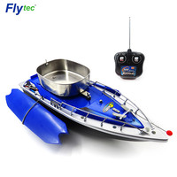 Flytec 2011 3 RC Boat Intelligent Wireless Electric Fishing Bait Remote Control Boat Fish Ship Searchlight Toy Gifts For Kids