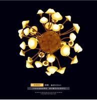 Ball Shape Mushroom Pendant Light Dia40cm/50cm 68W/84W AC90~260V Artistical Pandant Lamp Fashion Home Lighting WPL003