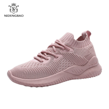 Women Sneakers Shoes Mesh Breathable Lace-Up Sport Comfortable Running for Female