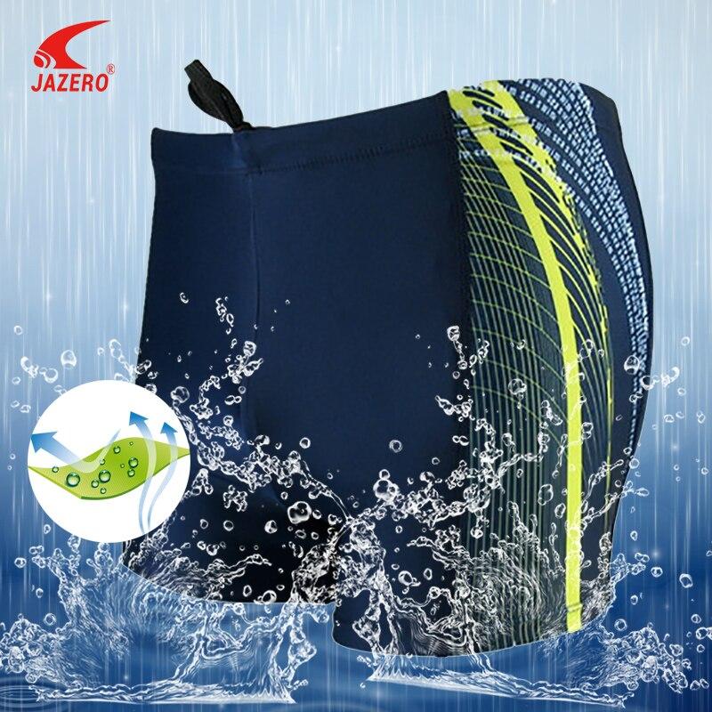 JAZERO Comfortable Swimwear Men Beach Shorts Breathable Print Swimsuit Man Swimming Trunks For Boys High Elasticity