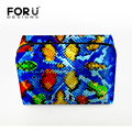 FORUDESIGNS Multi-styles Makeup Bags For Women Toiletry Bag Travel Cosmetic Bags Hot Selling Handbags For Girl