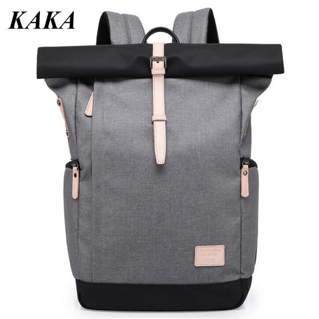 42f859e0c9e6 KAKA New Anti-theft Men s Backpack Waterproof Women Travel Rucksack 16 Inch  Notebook Laptop Backpack Students Schoolbag A748
