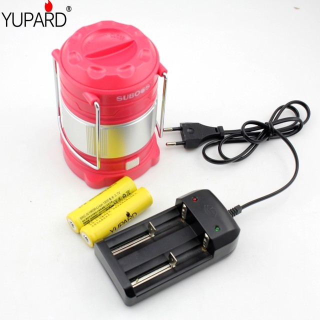 yupard USB rechargeable lanterns tent c&ing outdoor light SMD LED AA/18650 mobile power bank & yupard USB rechargeable lanterns tent camping outdoor light SMD ...