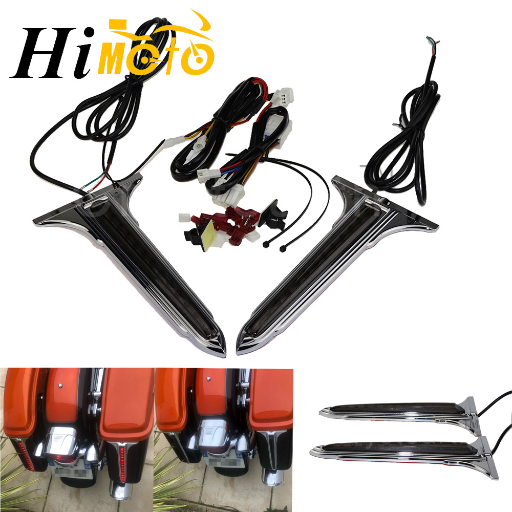 Motorcycle Side LED Brake Tail Light Rear Saddlebag Accents Lights For 1993-2013 Harley Touring Street Electra Glide Road KingMotorcycle Side LED Brake Tail Light Rear Saddlebag Accents Lights For 1993-2013 Harley Touring Street Electra Glide Road King