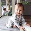 Новорожденный Ребенок Девочка Мальчик Хлопок Ползунки С Длинным Рукавом Комбинезон Милые Дети Костюмы Одежда