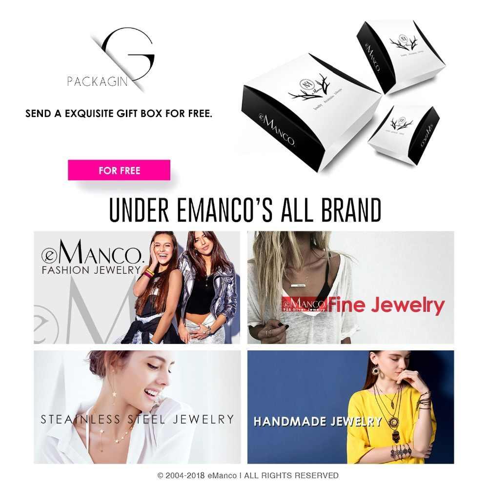 E-Manco 925 แหวนเงินสเตอร์ลิงขายส่งแหวนหมั้นงานแต่งงานหรูหรา Blue Stone แหวนที่ดีที่สุดของขวัญใหม่