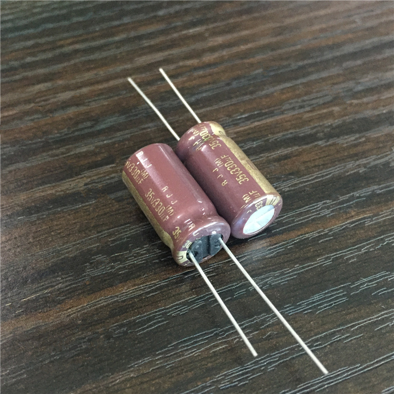 10pcs 330uF 35V Japan ELNA RJJ Series 10x20mm 35V330uF Low Impedance High Reliability Audio Grade Capacitor