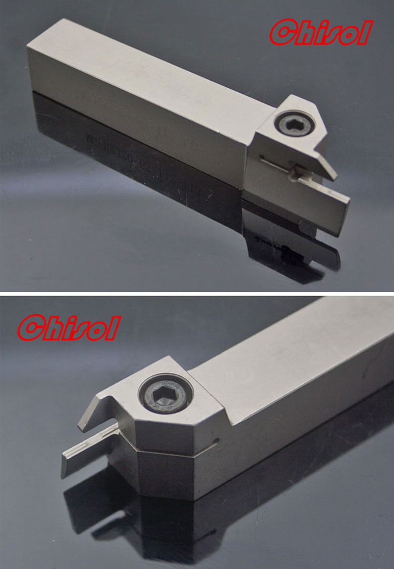 best selling cnc cutting tools Grooving tool holder MGFHR320-62/112-T13 for Korloy carbide inserts MFMN300-M 2mm wide blade cutter rod 12mm outer diameter cutting arbor external grooving lathe tool holder width grooving parting cutting