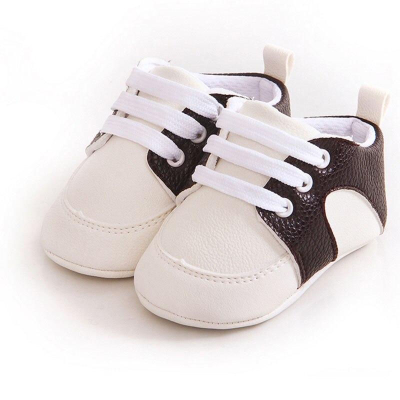 Prosty styl Baby boy dziewczyna PU miękkie dno Płaskie buty - Buty dziecięce - Zdjęcie 5