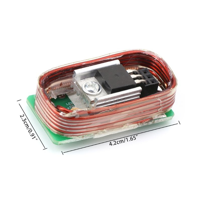 High Power Tesla High-voltage Generator Coil, Tesla Commonly Used Coil + Motherboard + Pipe Dropship