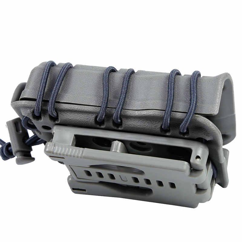 TACTIFANS Скорпион 5,56 Тактический Подсумок симметричная Модульная винтовка военно крепежный элемент для магазина ремня Molle крепление Airsoft MG26