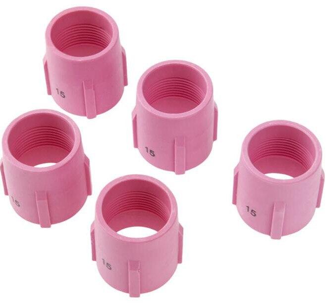 TIG Alumina Düse Gas Objektiv Keramik Tasse 53N89 15 # Fit Wig-schweißbrenner Verbrauchs PTA DB SR WP17 18 26 serie, 5PK